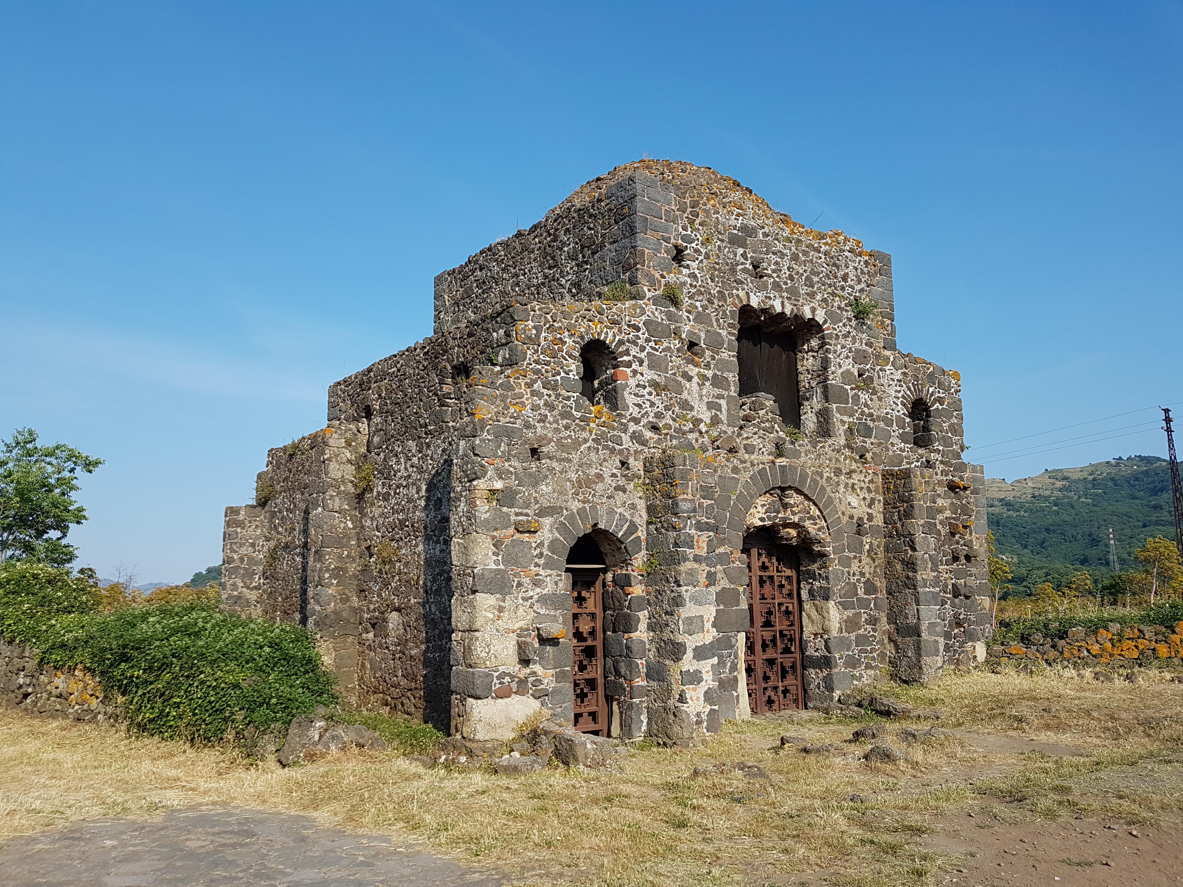 Byzantijnse kerk Castiglione di Sicilia