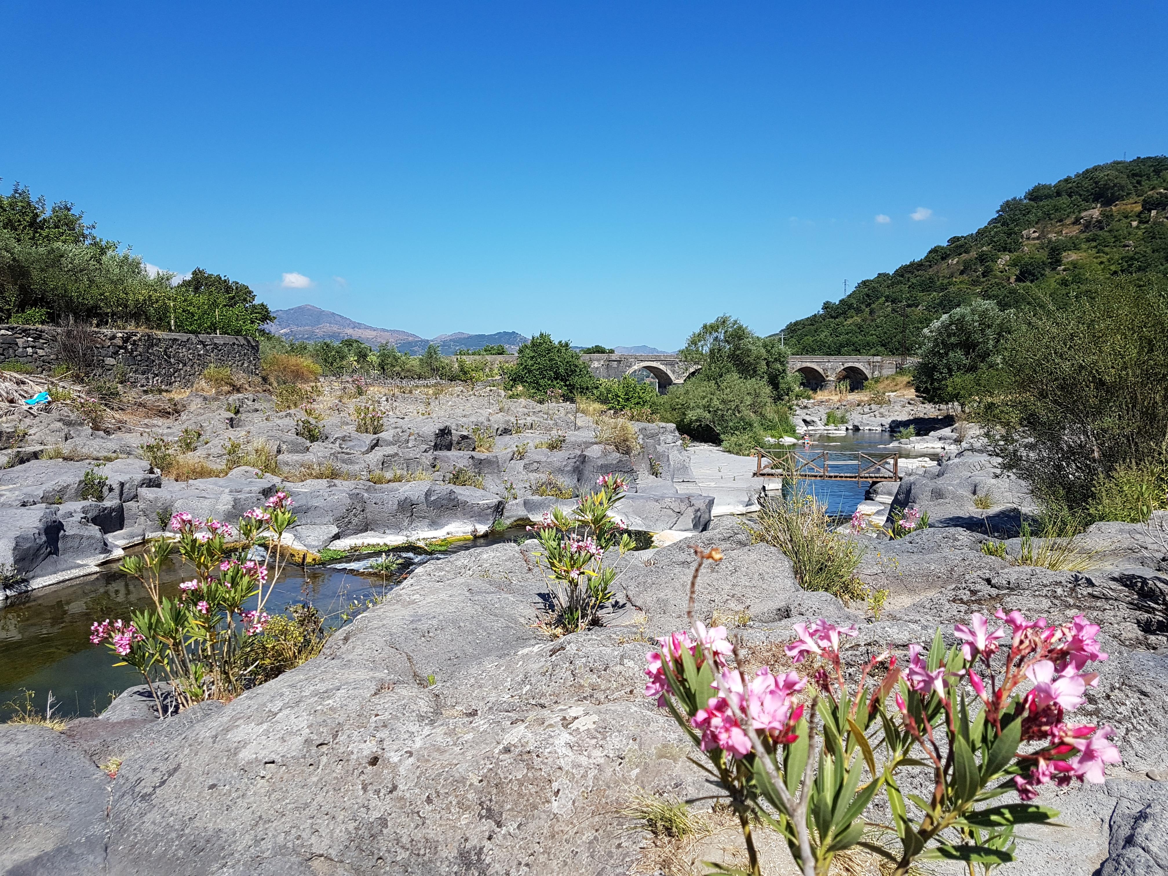 Valle d'Alcantara rivier