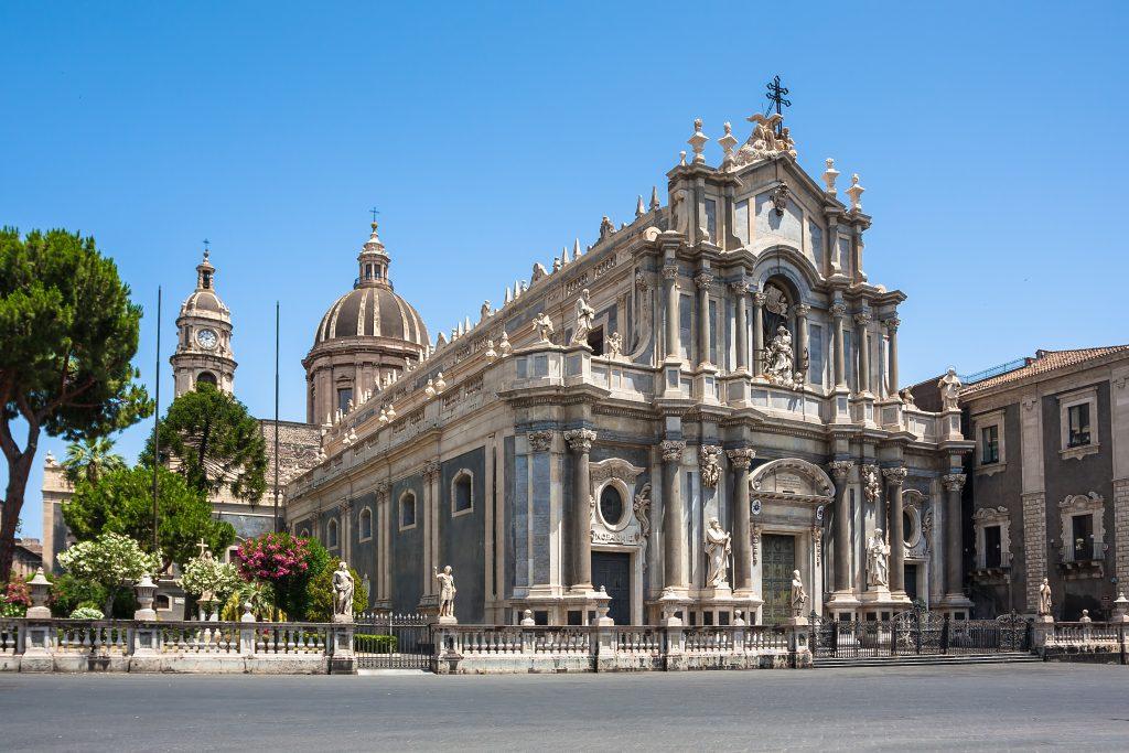 Piazza del Duomo en de kathedraal van Catania