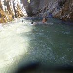 Stroming in de Alcantara kloof
