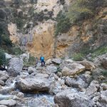 Rotsen waterval Catafurco - rivier S. Basilio