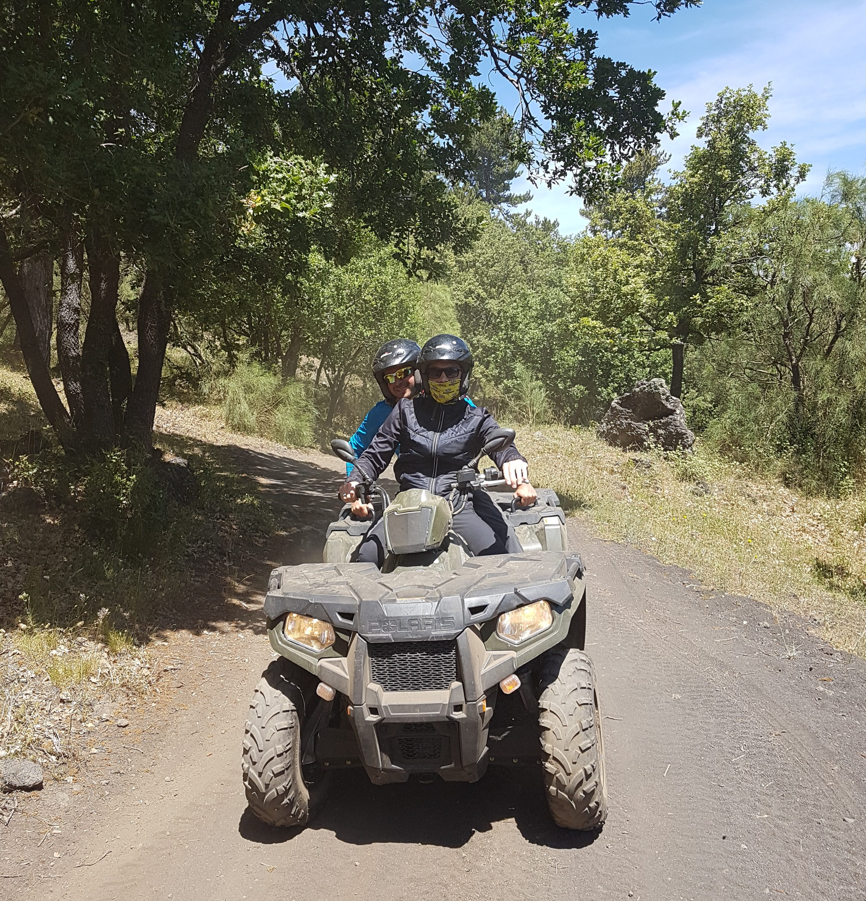 Quad tour 1,5 uur door Ragabo bos