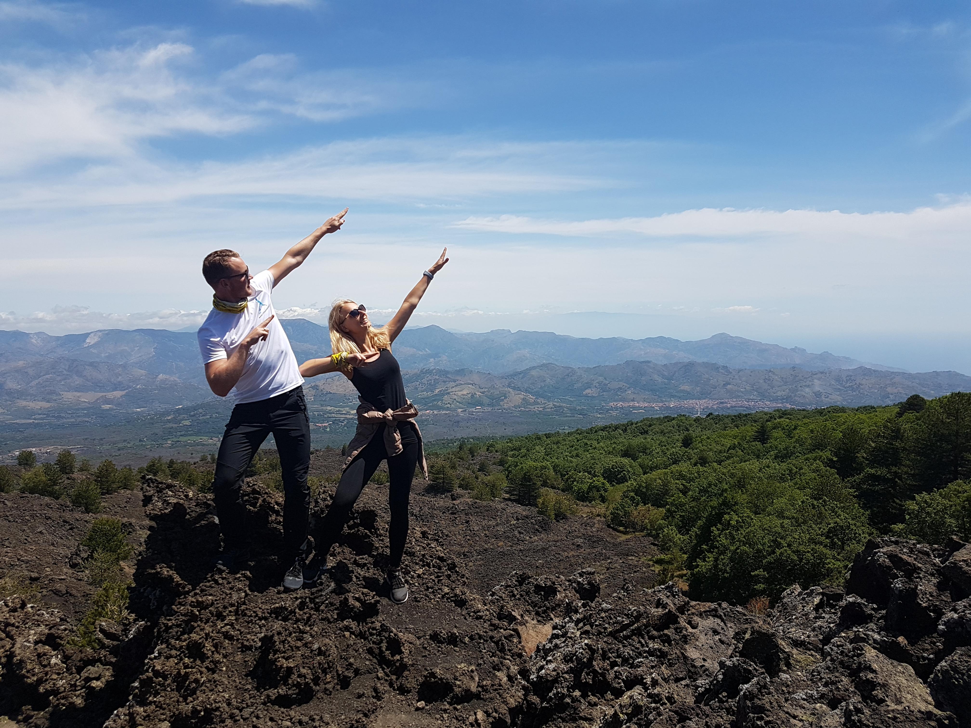 Uitzichtspunt lava 1923 - quad tour