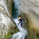 Canyoning Alcantara rivier Sicilië