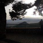 Uitzicht vanaf het kasteel van Castelmolo