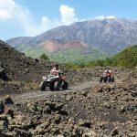 Etna vulkaan quad rijden