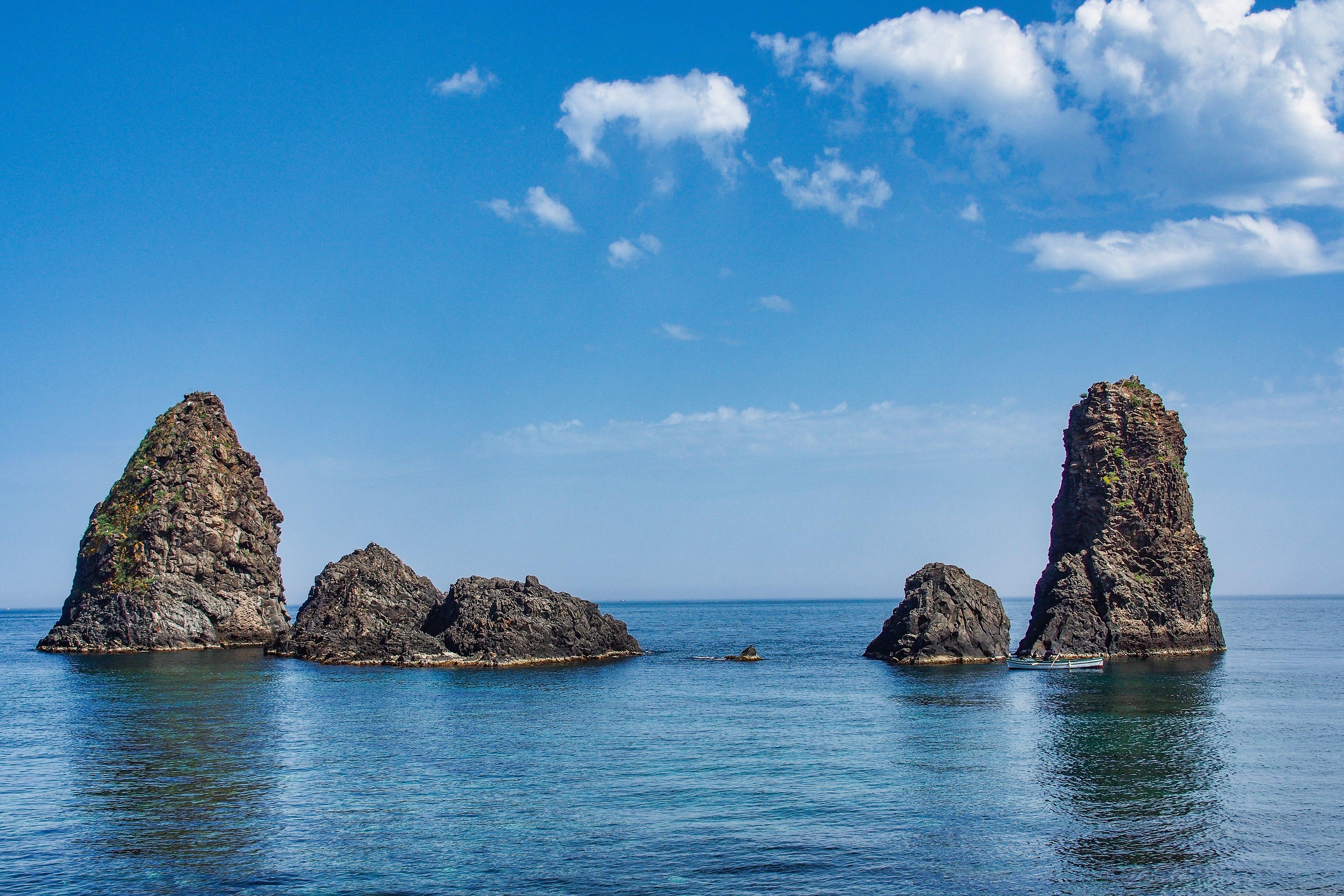 Faraglioni - Aci Trezza Sicilië