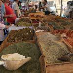 Kruiden op de markt in Siracusa - Ortigia