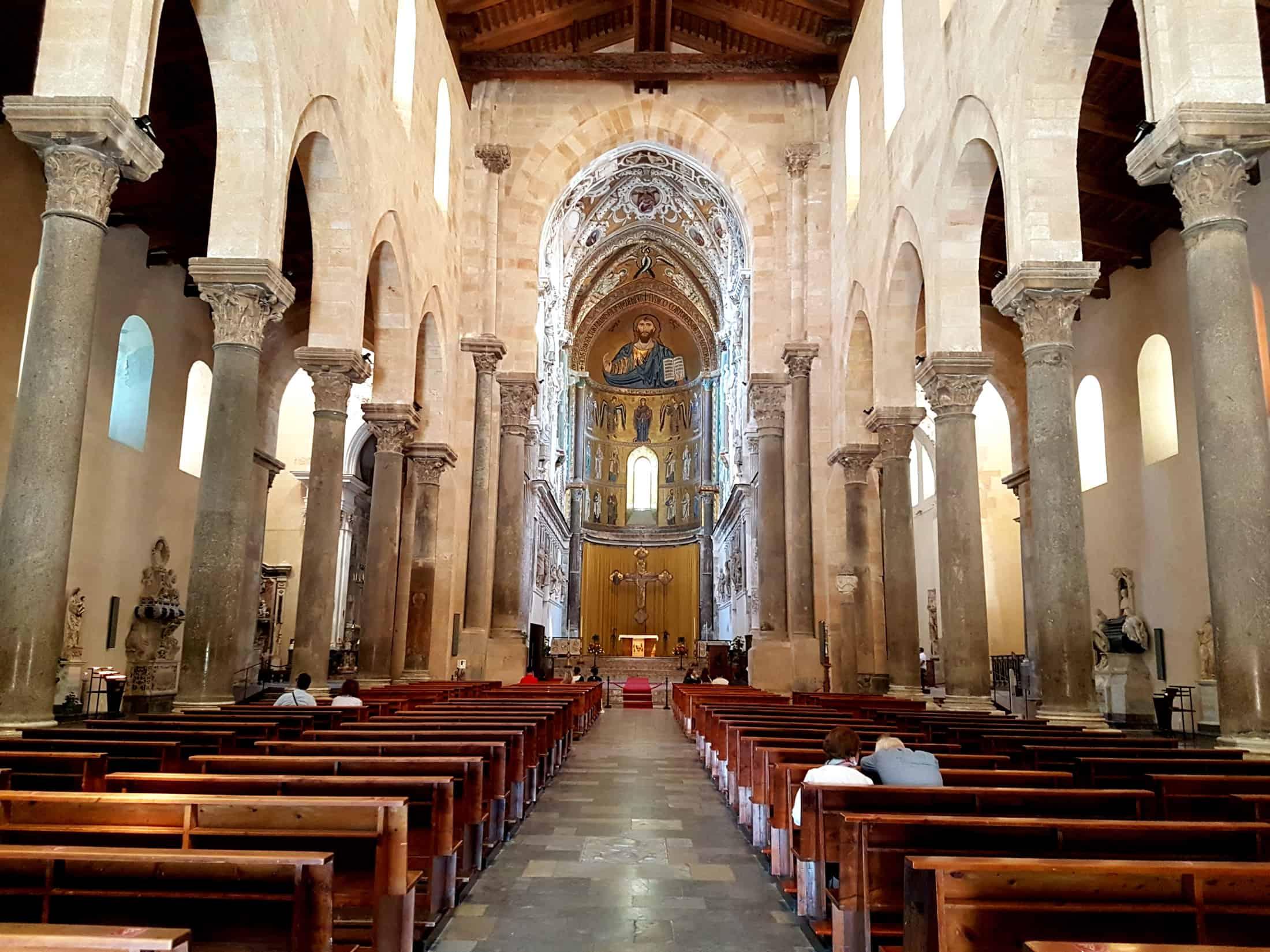 Kathedraal Cefalù van binnen