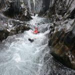Body raften Alcantara rivier