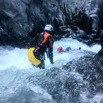 Bodyrafting Alcantara rivier
