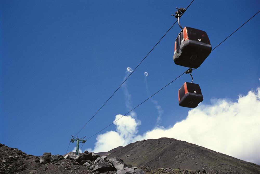 Kabelbaan Etna vulkaan - funivia
