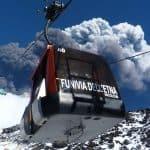Kabelbaan Etna vulkaan - Nicolosi Etna zuid