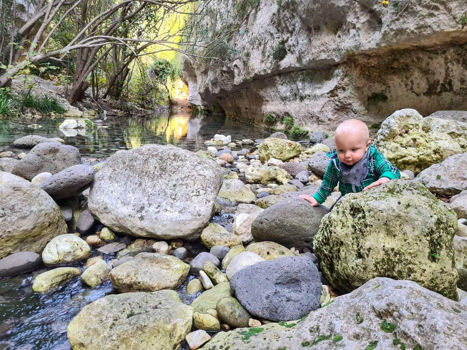 Calcinara rivier Pantalica
