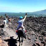 Paardrijden Etna vulkaan