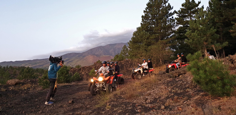 Prince Charming quad tour - Etna