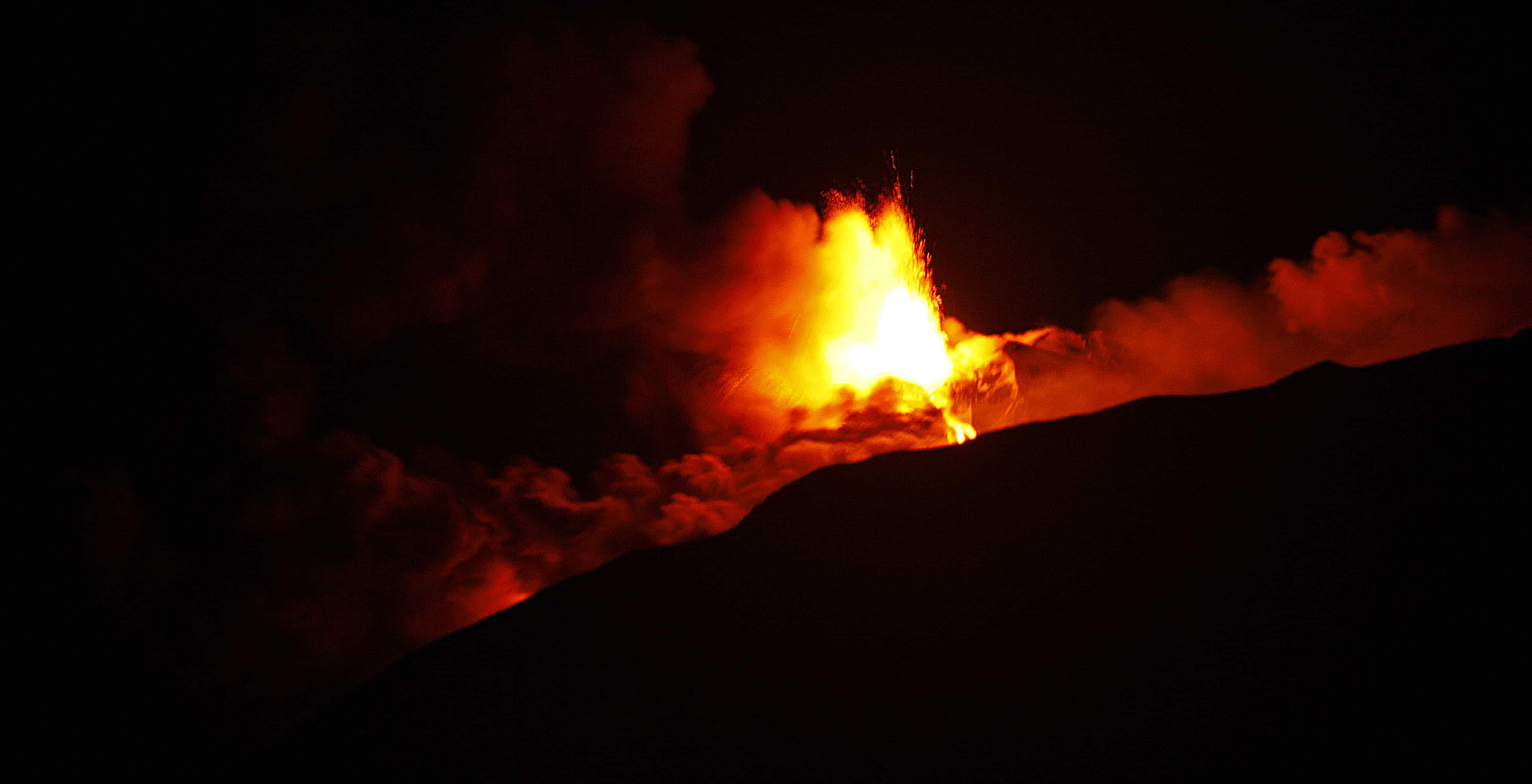 Lava Etna vulkaan 18 januari 2021