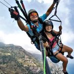 Paragliden op Sicilië