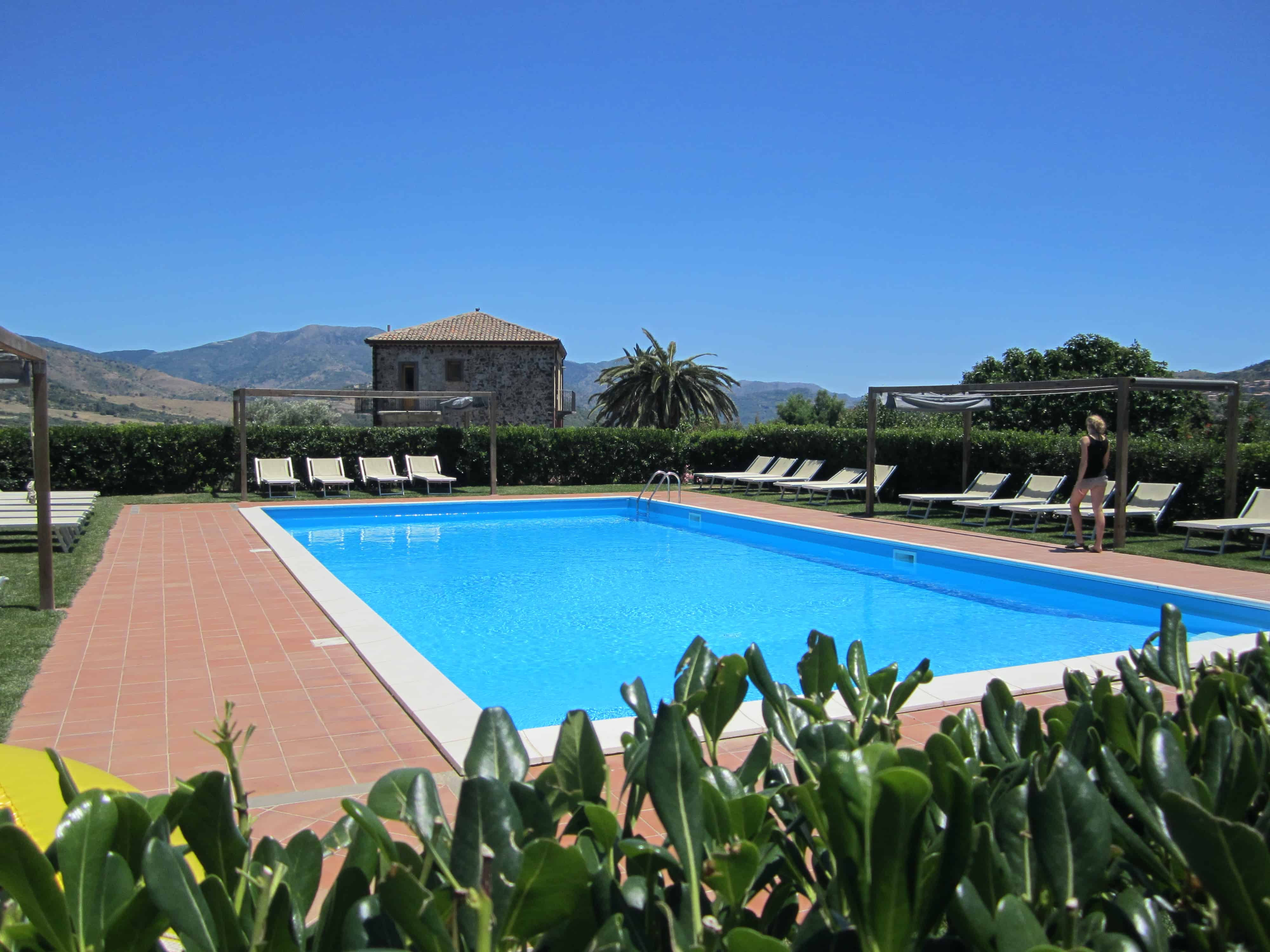 Tenuta Madonnina zwembad vakantiehuis