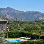 Uitzicht vanaf vakantiehuis Tenuta Madonnina