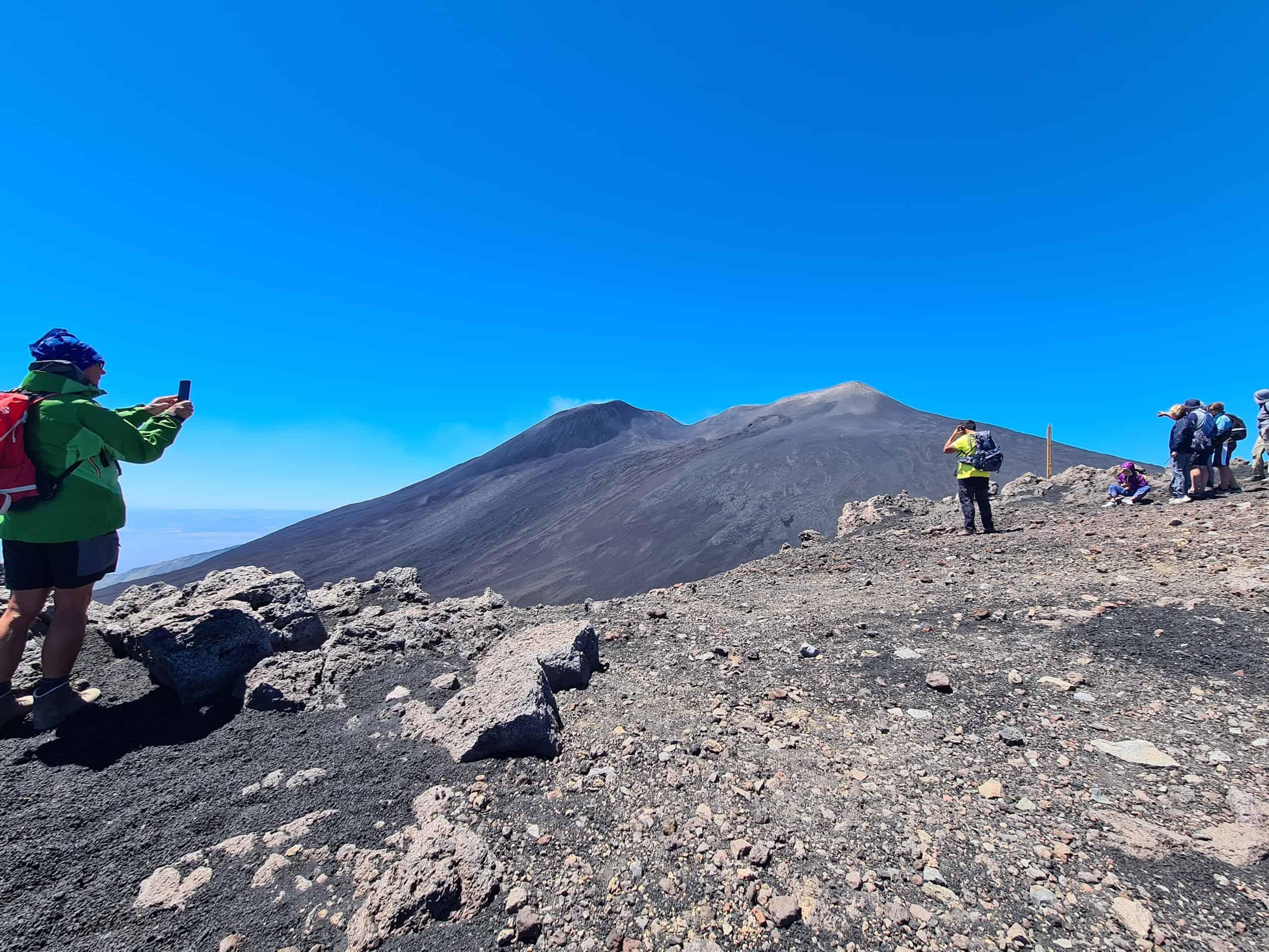 Etna Nord top krater 2900 meter