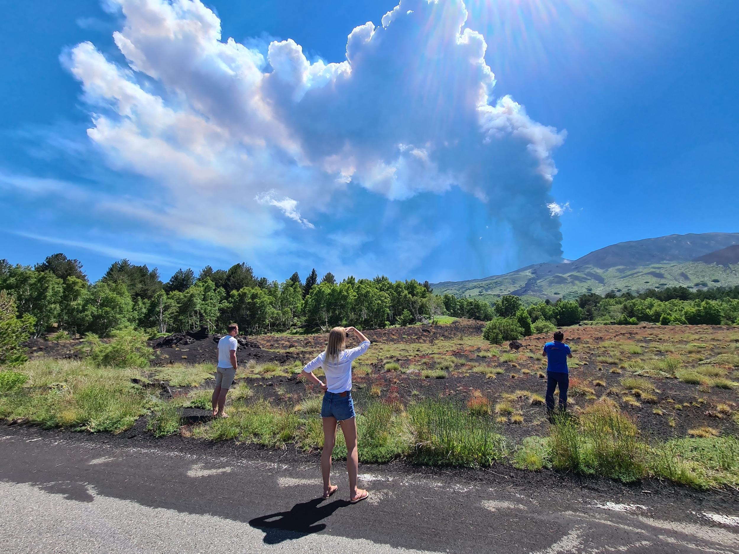 Etna uitbarsting 2021